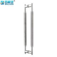 百利坚(BAILIJIAN)Glass Door Handle Door Knob Stainless Steel Door Handle Mirror Finish Door Handle