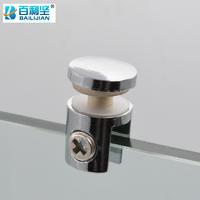 百利坚(BAILIJIAN) plate glass holder wine cabinet laminate glass holder exhibition cabinet fixing clamp suction cup layer sandwich